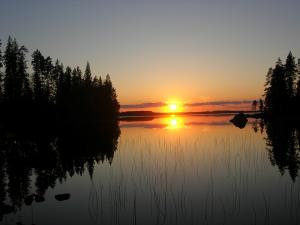 Juhannusilta Aurejärvellä