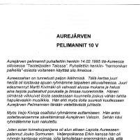 Aurejärven Pelimannit 10 v s.1